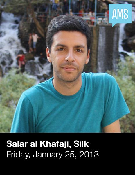 Salar al Khafaji, Silk