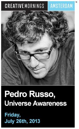 CreativeMornings: Pedro Russo