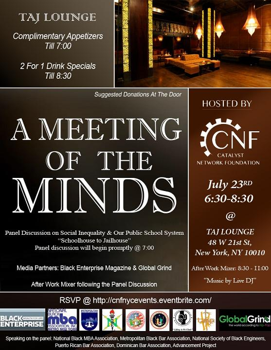 Meeting of the Minds Flier