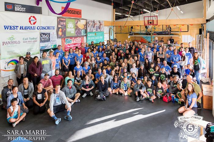 CrossFit AllStar Round UP 5 group