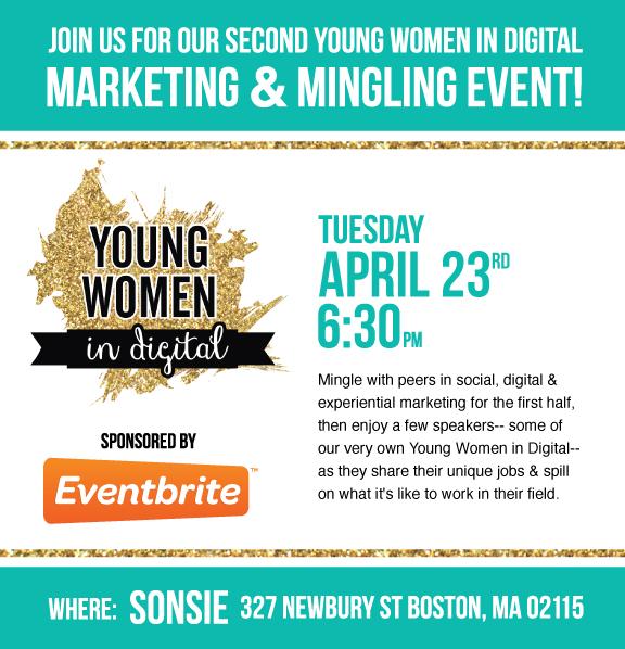 Young Women in Digital Marketing & Mingling