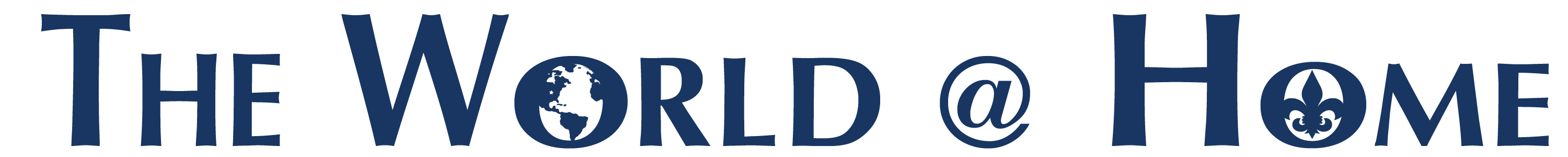 The World at Home logo