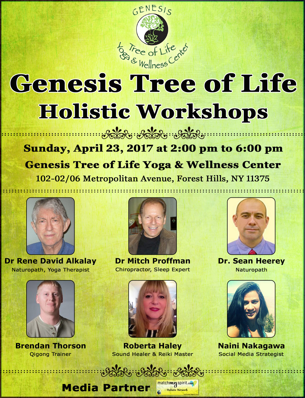 Genesis Tree of Life Holistic Workshops