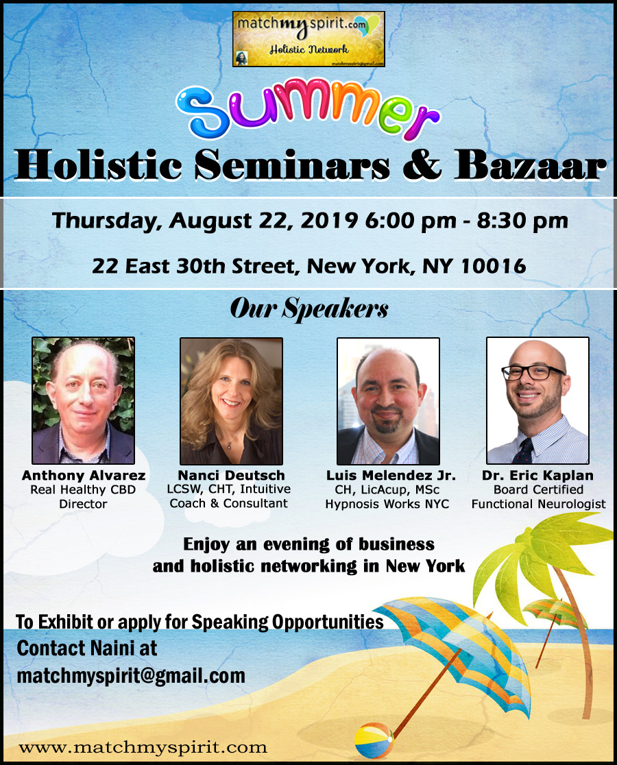 Summer Holistic Seminars & Bazaar