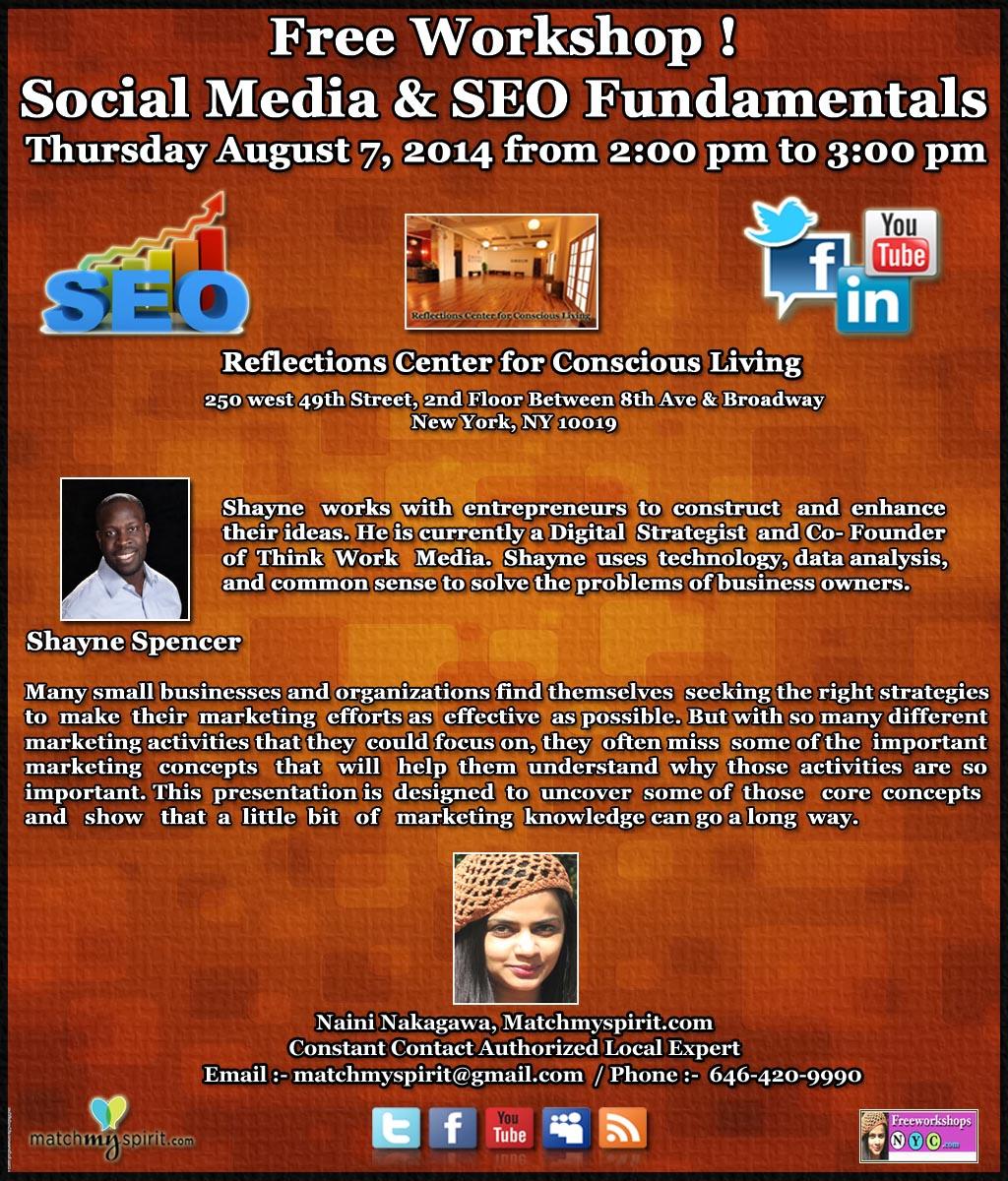 Free Workshop! Social Media & SEO Fundamentals