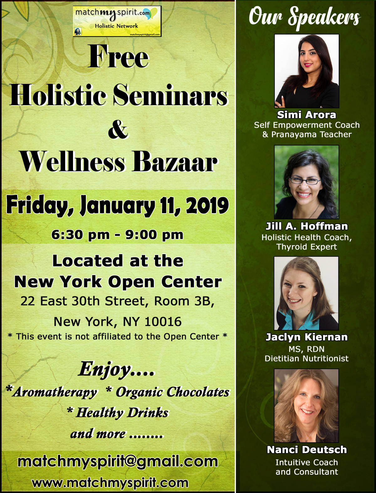 Holistic Seminars & Wellness Bazaar