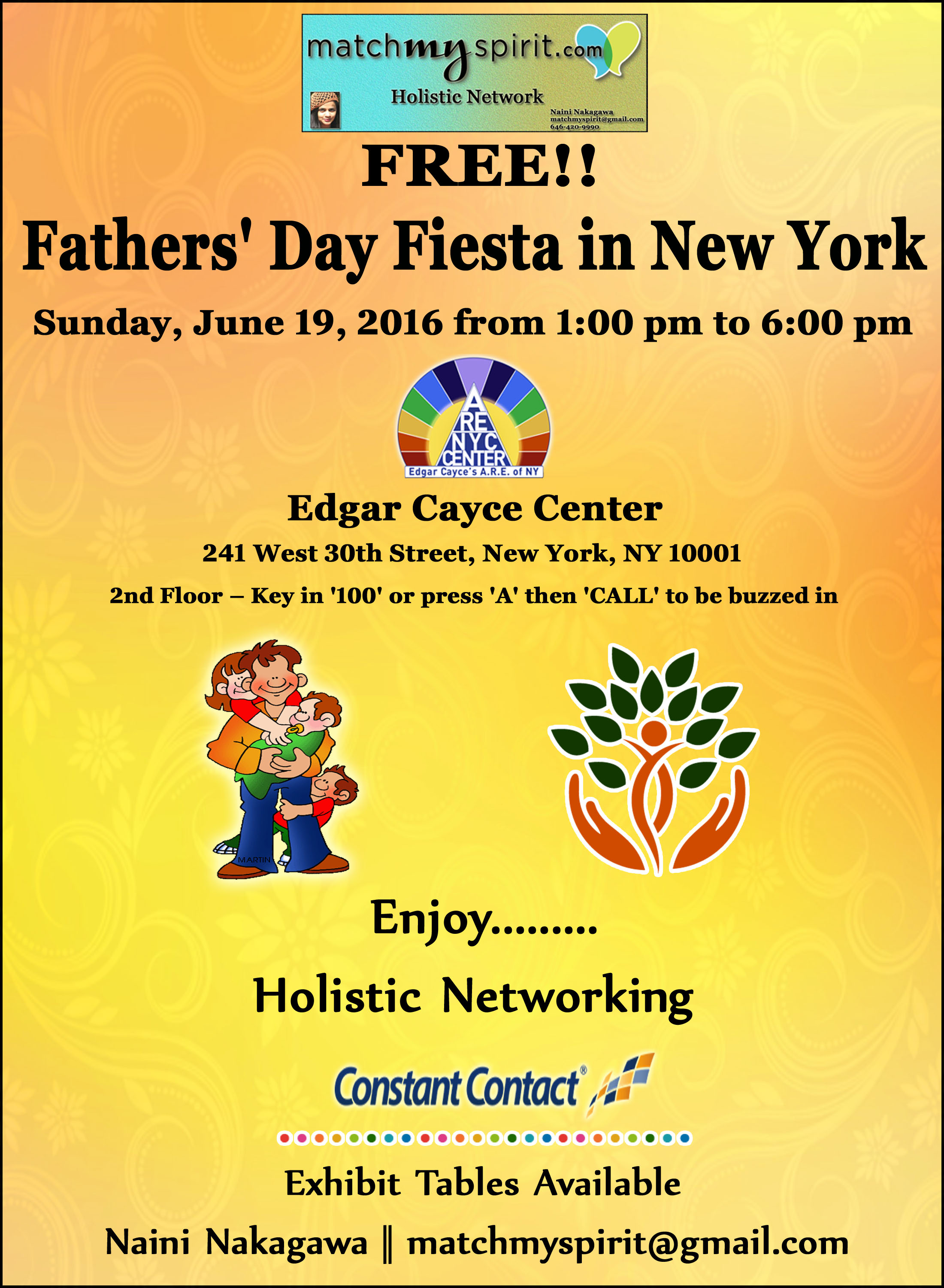 Free fathers 39 day fiesta in new york alternative to for Things to do in new york in one day