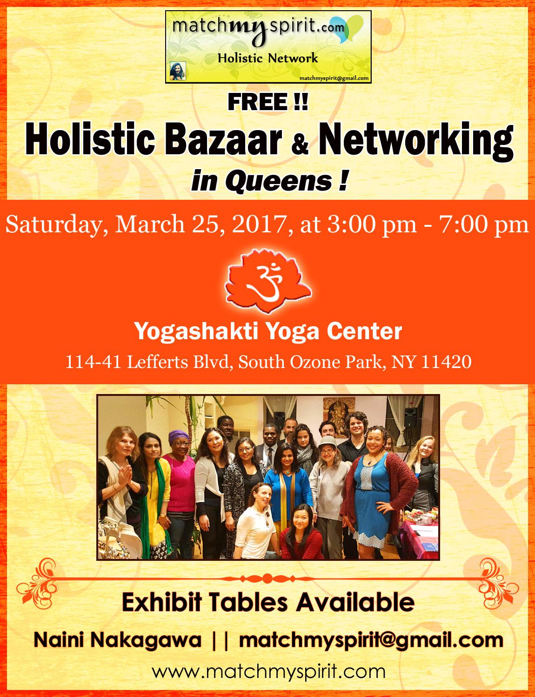 FREE!! Holistic Bazaar & Networking in Queens