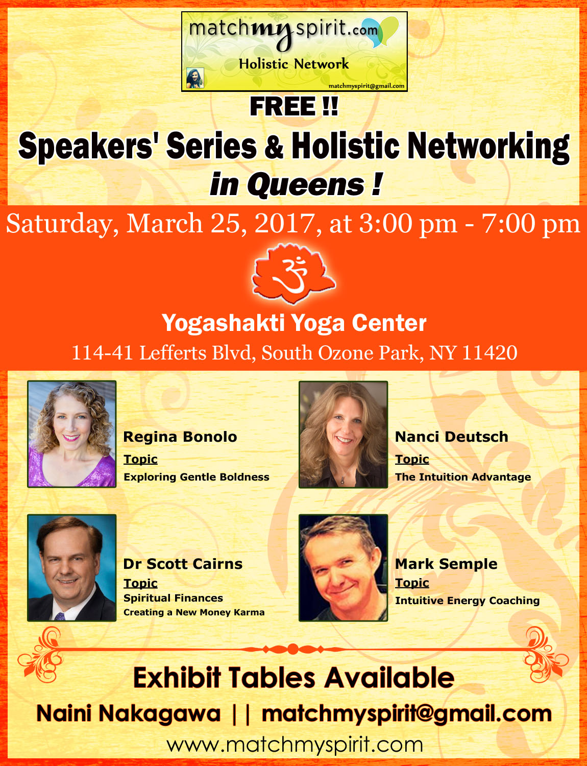FREE!! Holistic Bazaar & Networking in Queens