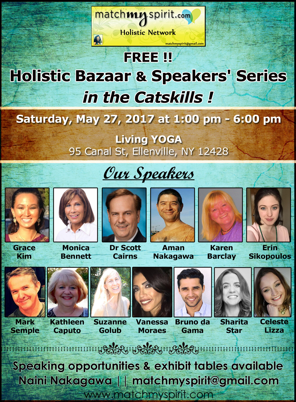 FREE!! Holistic Expo & Networking in Ellenville, NY