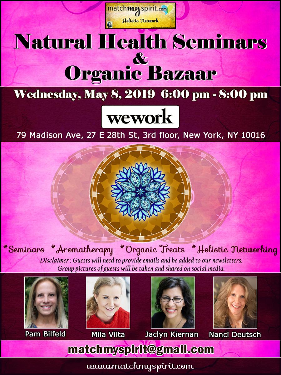 Natural Health Seminars & Organic Bazaar