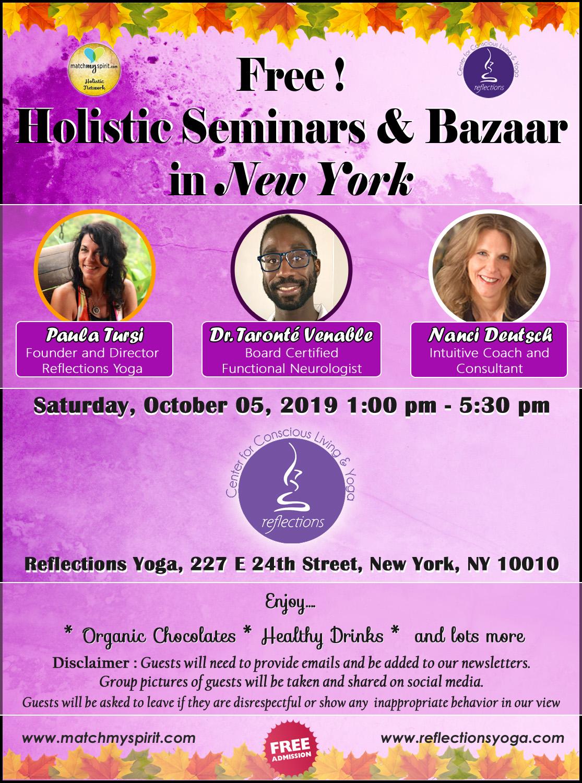 Holistic Seminars & Bazaar in New York