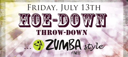 Hoe-Down Throw-Down Zumba Party