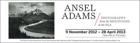 Ansel Adams Exhibition at the National Maritime Museum