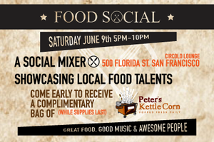 Food Social SF- June 9th