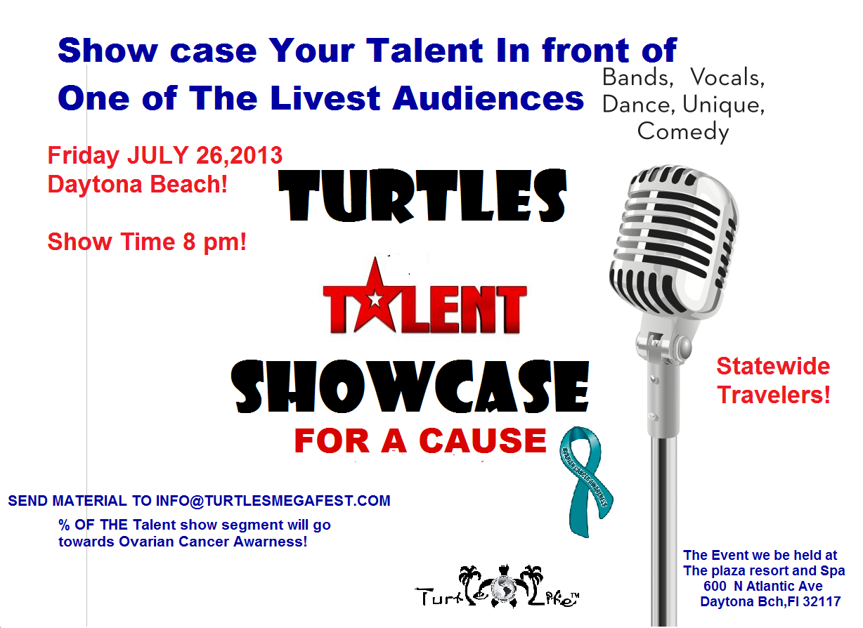 Talent showcase for a cause