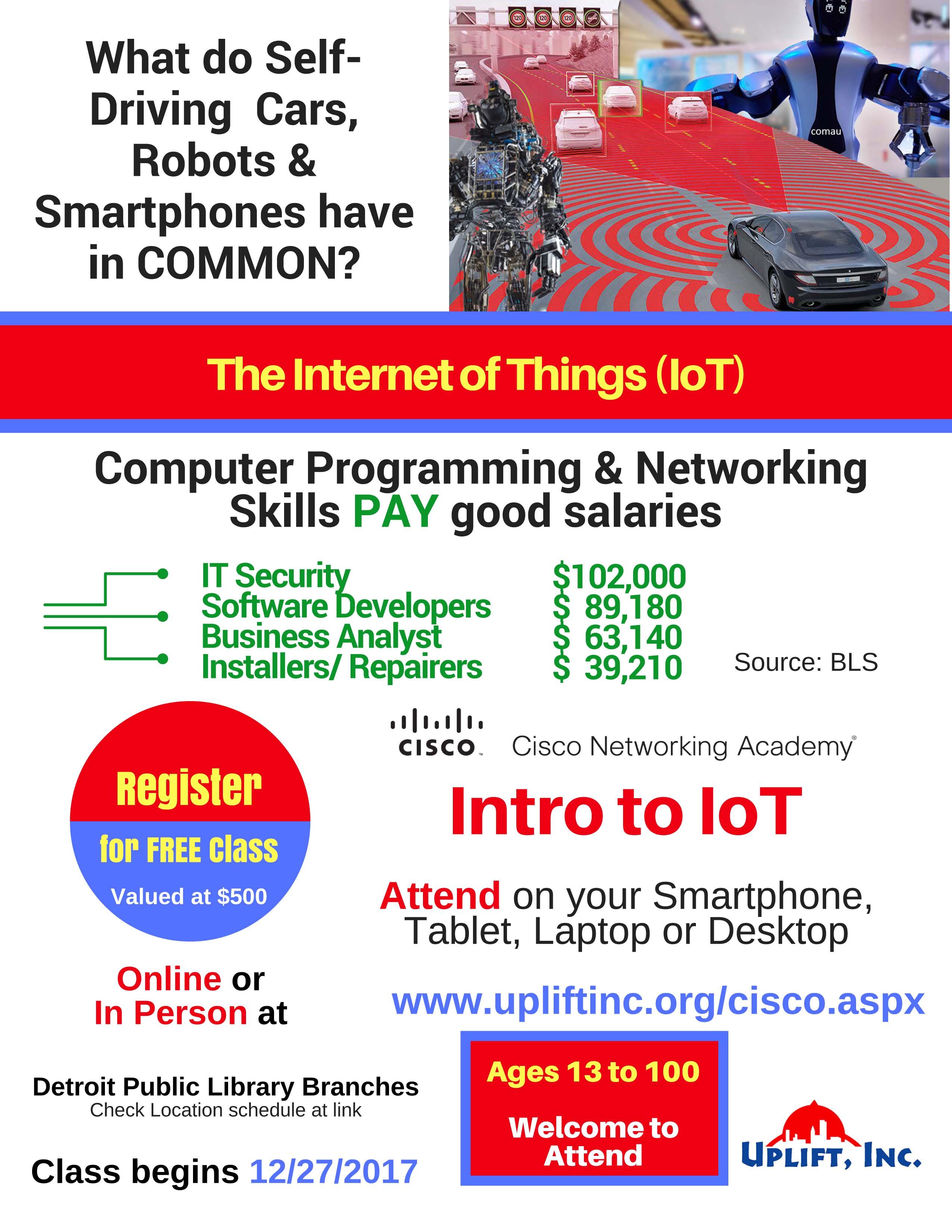 Cisco IoT (Internet of Things) Class