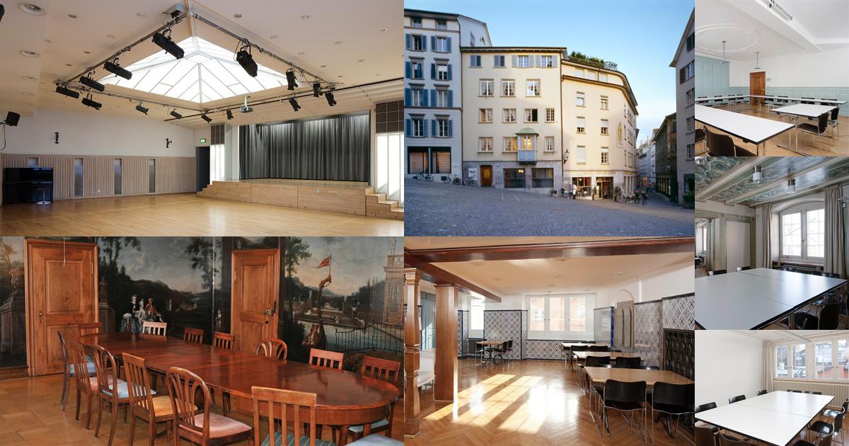 Location des 1. Schweizer Wevents | Zentrum Karl der Große