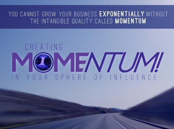 Creating Momentum Invite