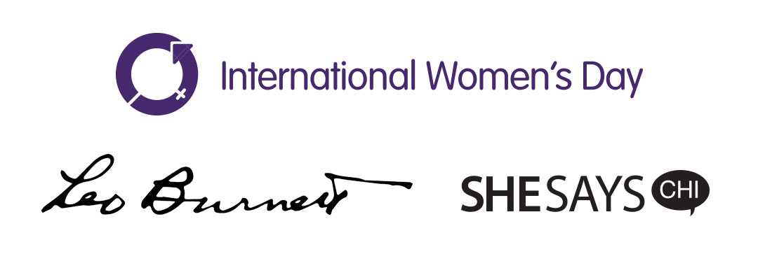 International Women's Day, Leo Burnett, SheSays Logos