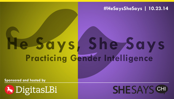 He Says, She Says: Practicing Gender Intelligence