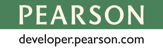 developer.pearson.com logo