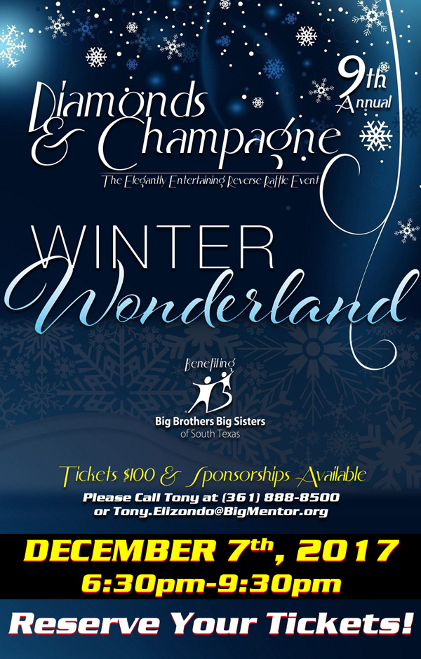 Big Brothers Big Sisters 9th Annual Diamonds & Champagne Event