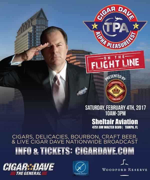 Cigar Dave Alpha PleasureFest on the Flight Line 2017