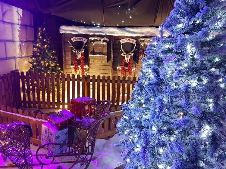 Santa in Blackpool