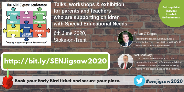 The SEN Jigsaw Conference Banner