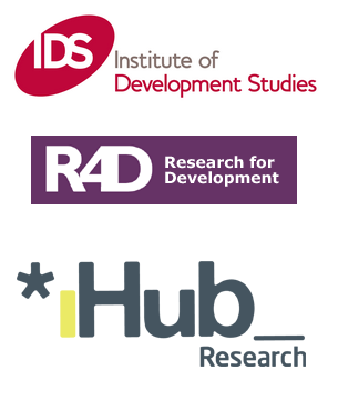 IDS, R4D, IHub Logos
