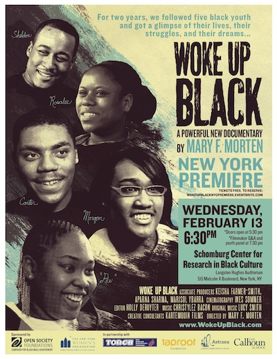 Woke Up Black promo poster