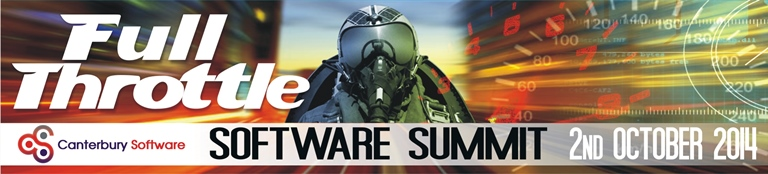 Canterbury Software Summit 2014: FULL THROTTLE