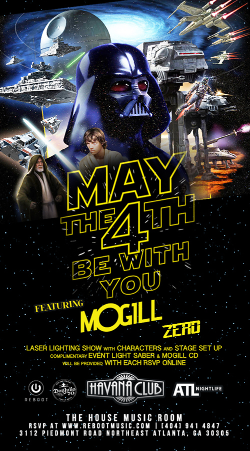 Reboot Special Event with MOGILL & |ZERO| - Sat, May 4th - Havana Club