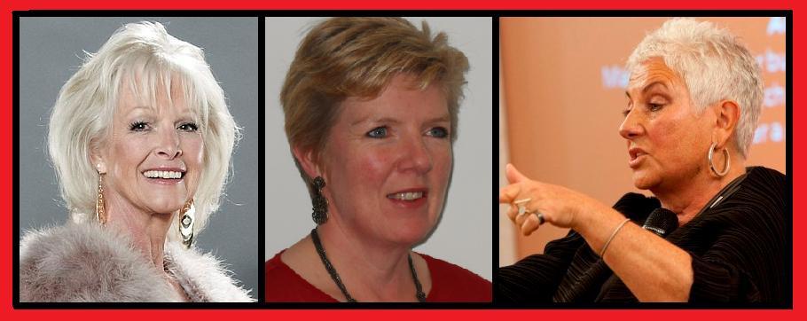 Rosemary Macdonald, Dee Dee Wilde & Margaret Carter