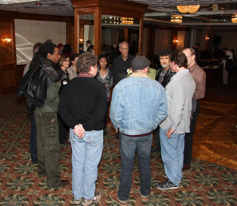 Breakout group from our Nov. networking event.