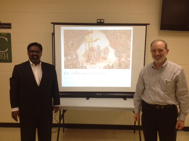 Don and Siraj at Agile Carolinas