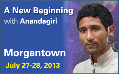 A New Beginning in Morgantown with Anandagiri