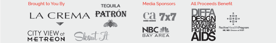 DIFFA SF 2013 Sponsors