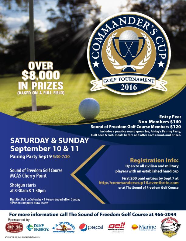 Commanders Cup 2016 - September 9, 10, 11