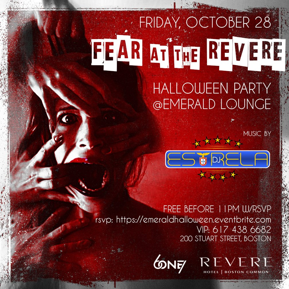 FEAR at the REVERE Halloween Party At Emerald Tickets, Fri, Oct 28 ...