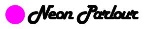 Neon parlour logo