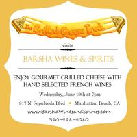Grilled Cheese Truck at Barsha Wines & Spirits