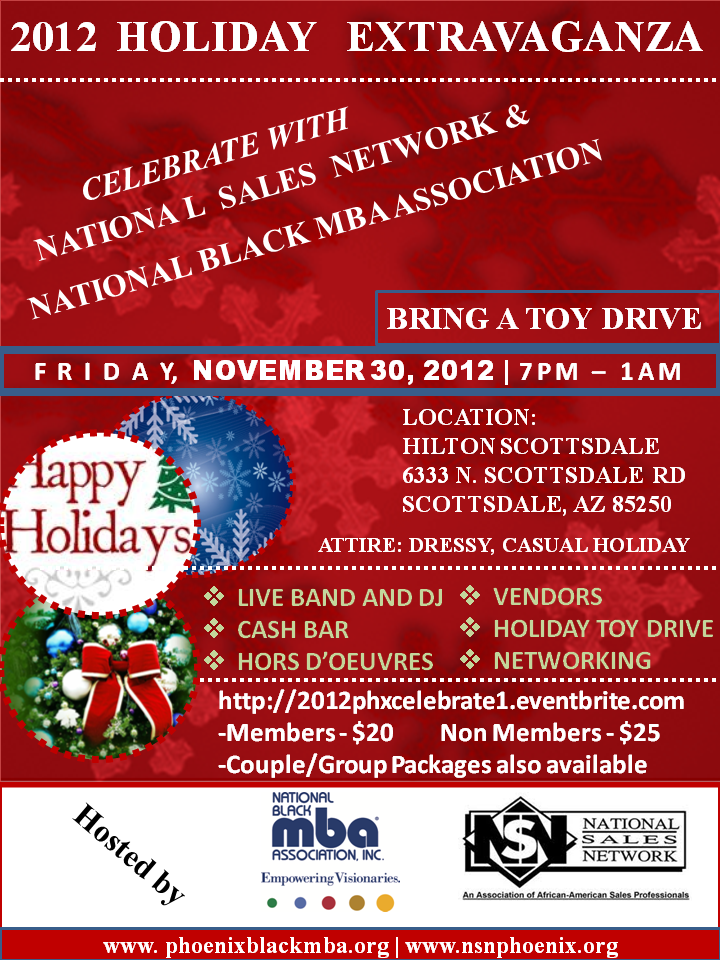 Holiday Event with NBMBAA and NSN