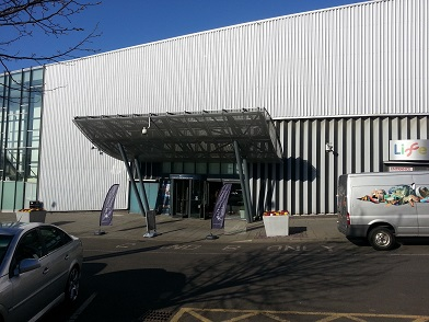 Life Conference & Banqueting Centre entrance