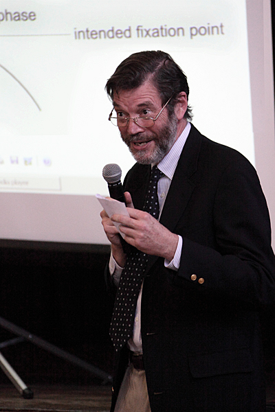 Dr Jonathan Erichsen (copyright Nigel Stripe)