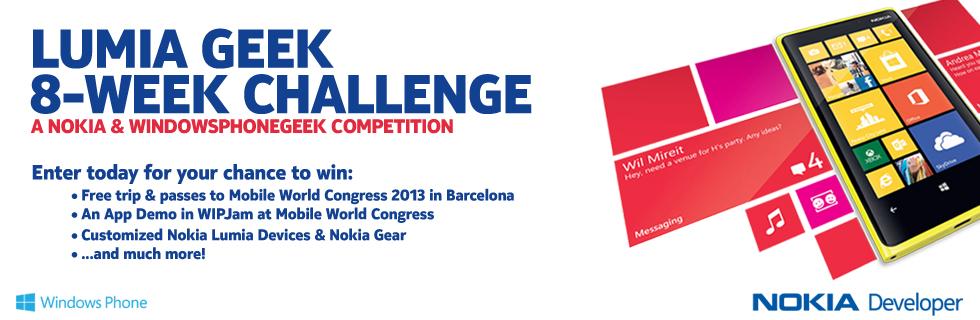 Lumia Geek 8-Week Challenge