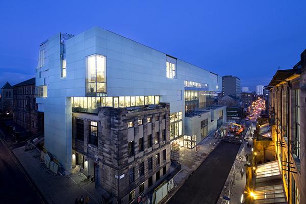 Reid Building, Glasgow School of Art - image courtesy of Glasgow School of Art