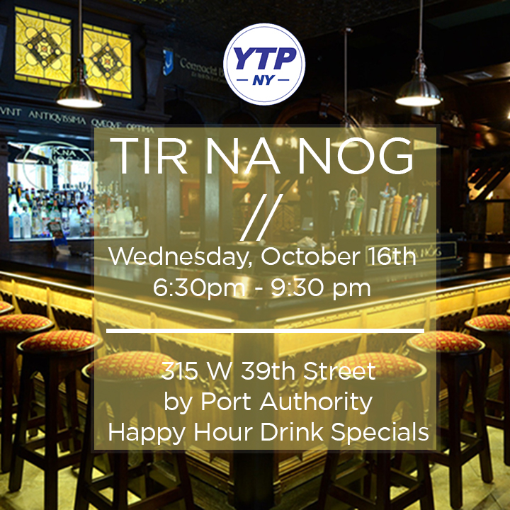 YTP OCTOBER EVENT - TIR NA NOG