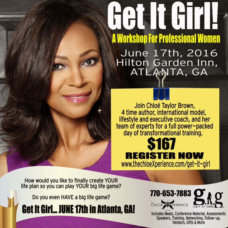 Chloe Taylor Brown, Get It Girl Conference